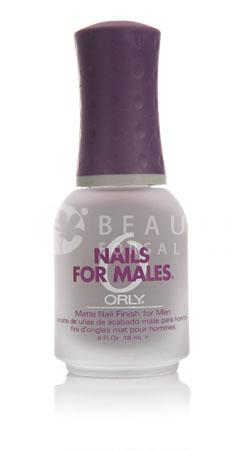 Matte Nail Finish for Men - NAILS FOR MALES - Welcome to Orly ...